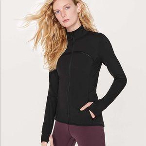 Lululemon Mesh Is More Zip-up Jacket Black 8